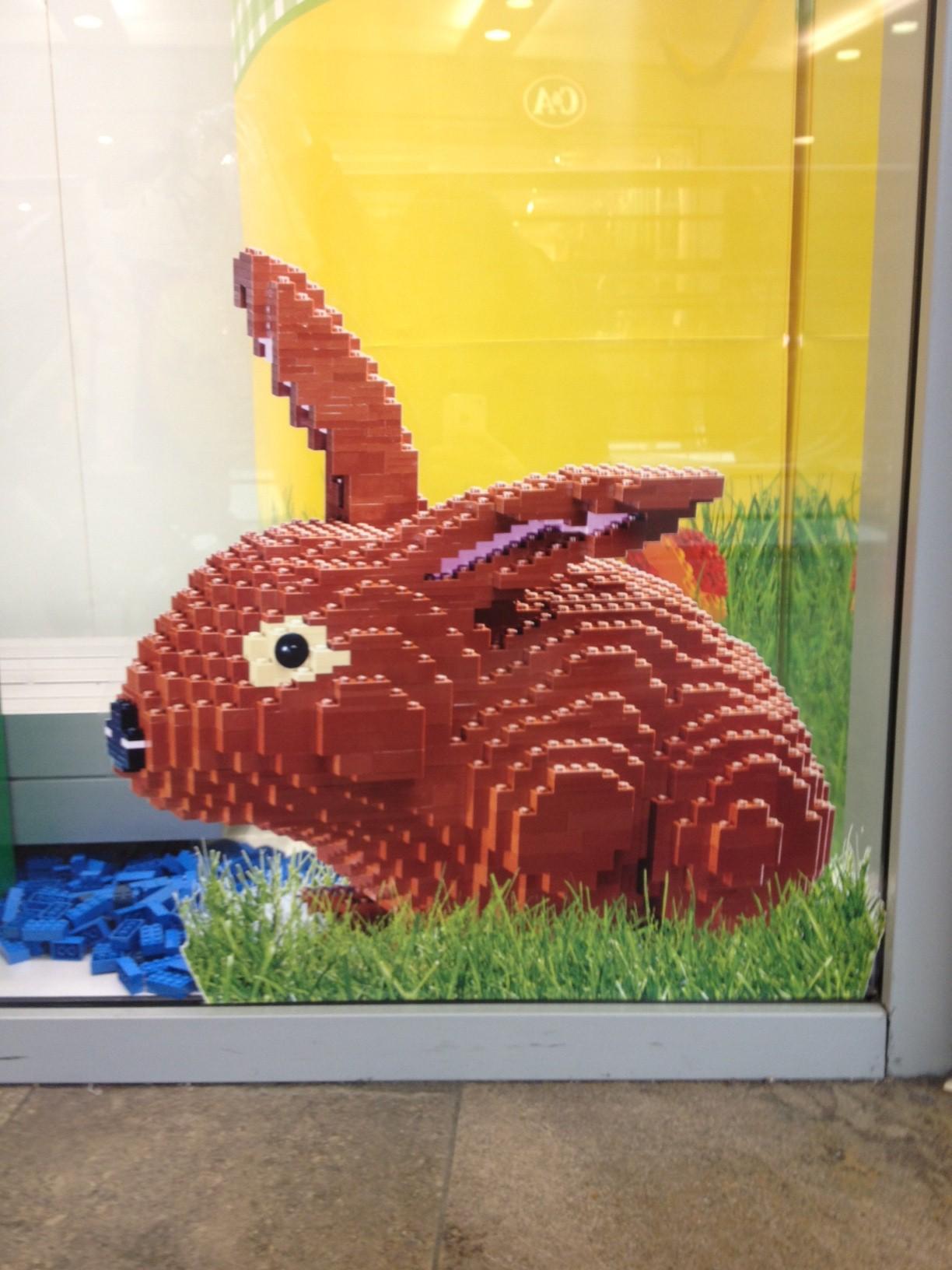 conejo lego