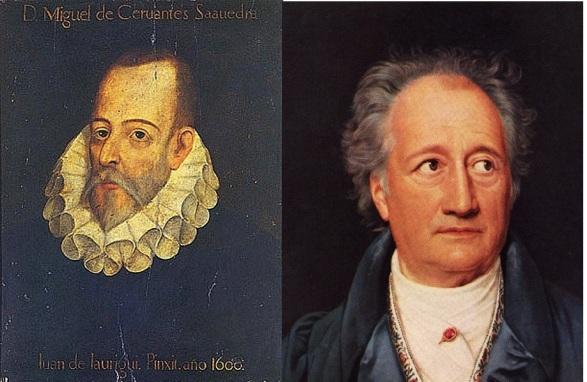 Cervantes Goethe